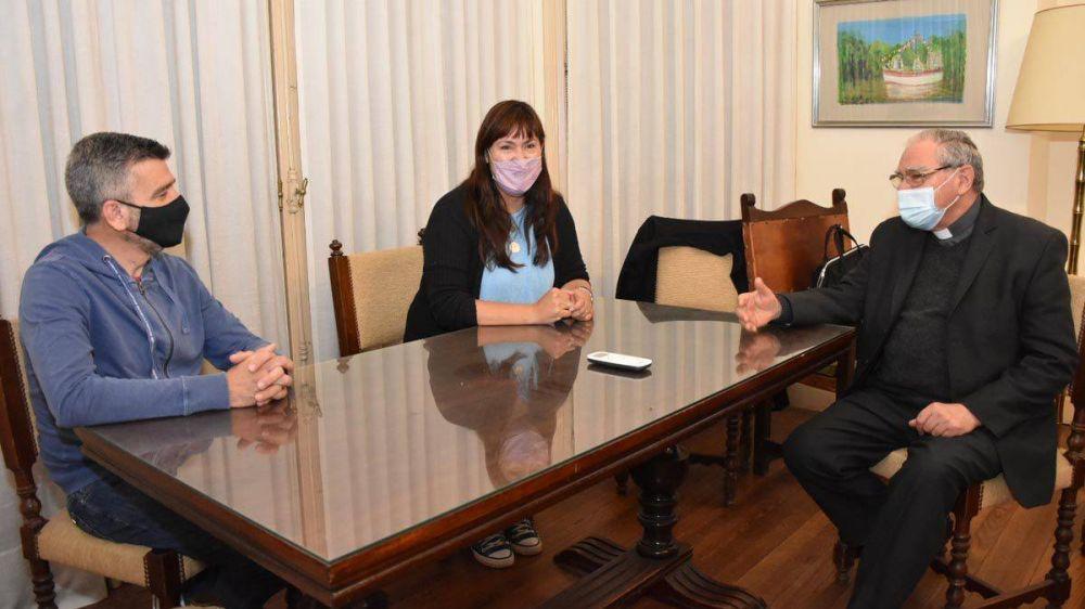 Ojea recibió al nuevo ministro de Desarrollo Social