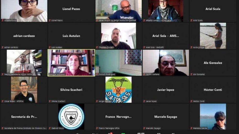Sindicalistas de todo el país se reúnen para diseñar estrategias de comunicación comunes