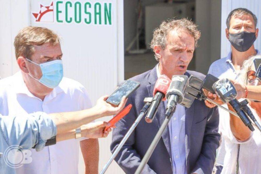 """Katopodis: """"En Mar del Plata con Montenegro tenemos una agenda con muchas obras que ya se ejecutaron y que se van a seguir ejecutando"""""""