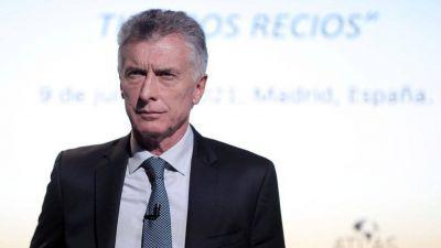 Desoyendo las sugerencias de los equipos de campaña, Mauricio Macri volvió a aparecer en televisión