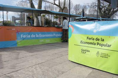 Lanzamiento de CuidaTEP y entrega de puestos de feria de la economía popular en Tigre