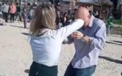 PASO 2021: Insólito baile de campaña de Espert y Piparo en Florencio Varela