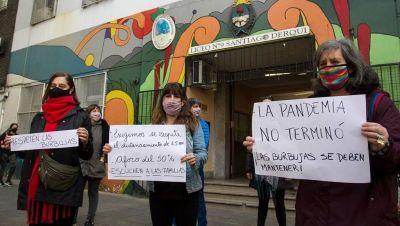 UTE inicia semana de protestas contra la presencialidad sin distanciamiento en escuelas
