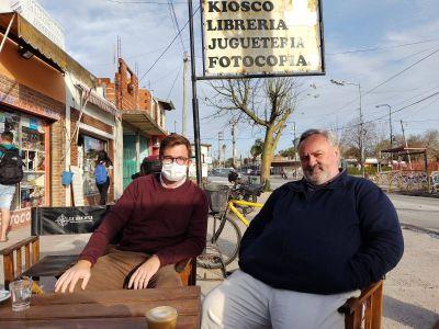 """De la Torre junto a Massot en Tigre: """"El corazón siempre le gana al dinero"""""""