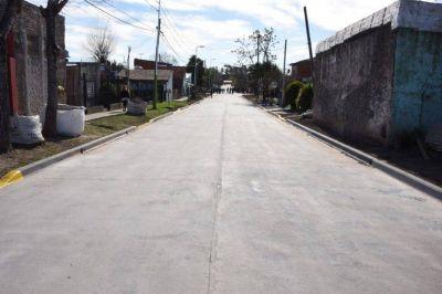 Nardini recorrió el pavimento de la calle José Marti