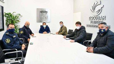 Ariel Sujarchuk se reunió con el nuevo jefe de la policía