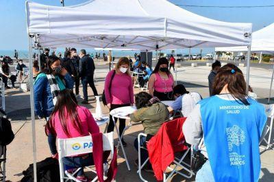 Coronavirus: habrá otras diez postas de vacunación itinerante en Mar del Plata