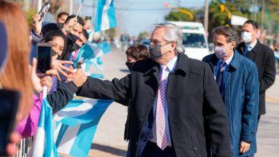 El Presidente va a Catamarca y visita una fábrica textil líder de marcas emblemáticas