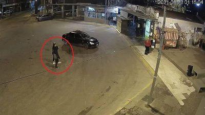 Identifican al femicida de Moreno gracias a las cámaras de seguridad de Merlo