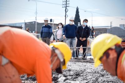 La Matanza | Avanzan las obras de los túneles bajo nivel de la Línea Belgrano Sur en Laferrere