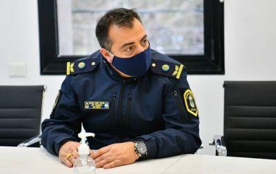 El comisario inspector Sastre es el nuevo jefe de la Policía de Escobar