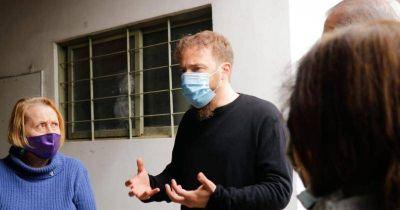 Otermín destacó el acompañamiento del equipo de Martín a las y los jubilados en pandemia