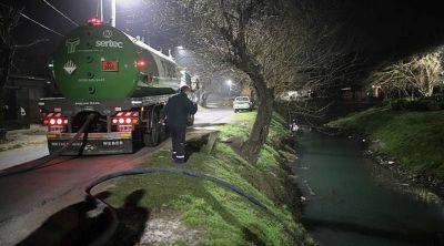 ACUMAR realizó un operativo de inspección en el Parque Industrial de Burzaco
