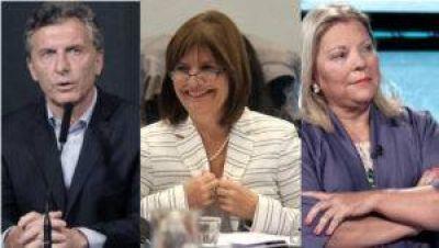 Táctica de Bullrich en Córdoba activa a Macri y Carrió