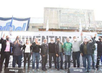 Cumbre con los que empujan para entrar a la CGT: las juventudes sindicales reunieron al moyanismo con precandidatos a dipusindicales de la Corriente Federal y la CTA