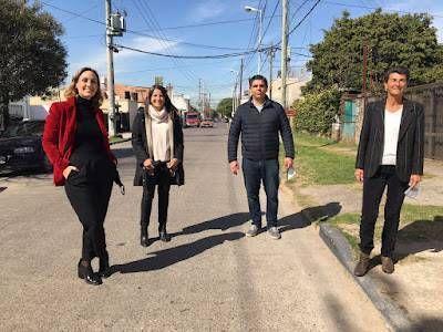 Lucas Aparicio y la Lista de los Vecinos presentaron sus propuestas junto a Florencia Arietto y Claudio Zin