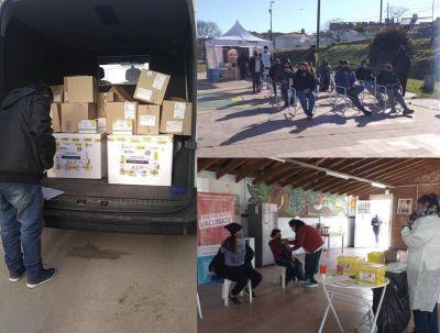 Mar del Plata alcanza las 600 mil vacunas aplicadas y continúan las postas itinerantes