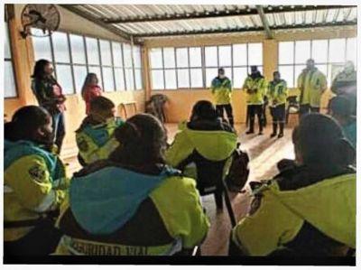 Inicio del taller de Primero Auxilios Psicológicos para personal de Seguridad Vial