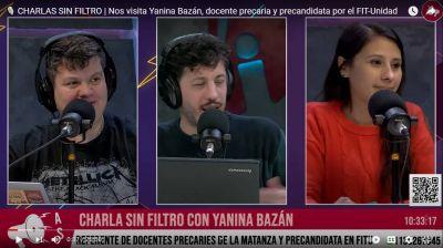 """Yanina Bazán: """"Peleamos en contra de que nos sigan precarizando la vida"""""""