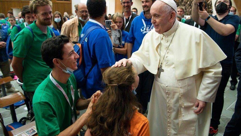 El Papa a la asociación Lazare: