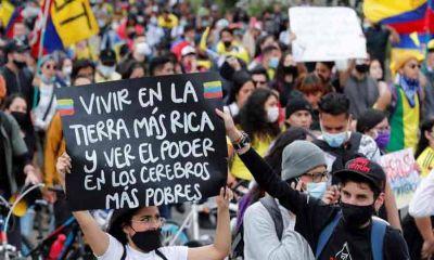 Colombianos volvieron a las calles en las principales ciudades del país con reclamos al Gobierno