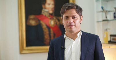 """Axel Kicillof: """"El proyecto que yo vengo a representar es de largo plazo"""""""