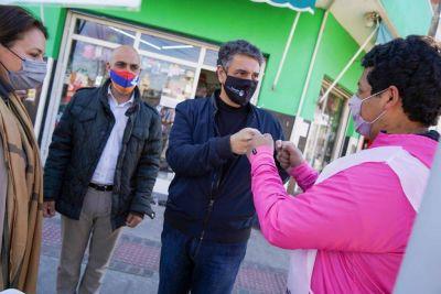 Jorge Macri recorrió Malvinas Agentinas y apoyo a los precandidatos de «Juntos»