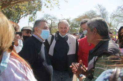 Mario Negri en Villa El Libertador: