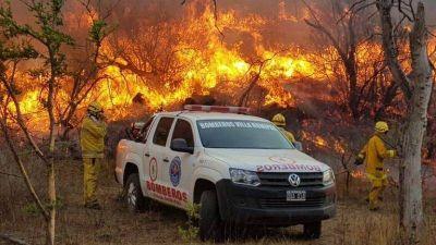 La Municipalidad advierte que el riesgo de incendios es extremo
