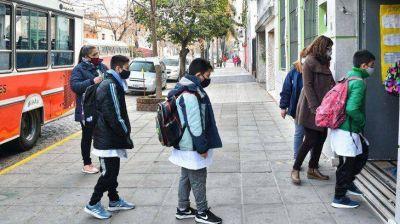 Presencialidad escolar plena en Provincia: cómo será el protocolo