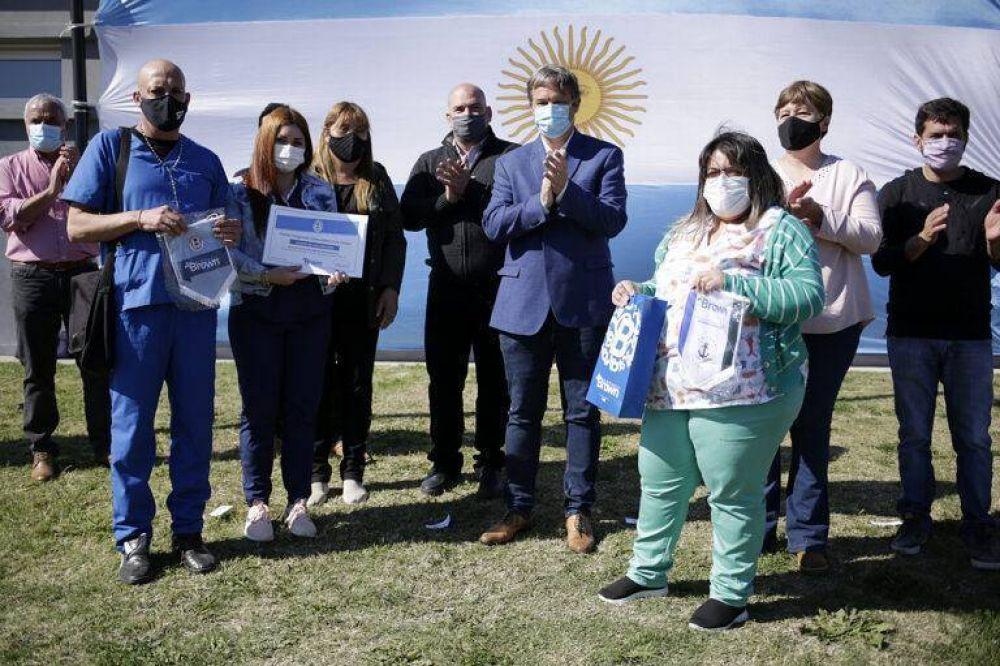 Cascallares encabezó emotivo acto por el aniversario de la localidad de San Francisco de Asís