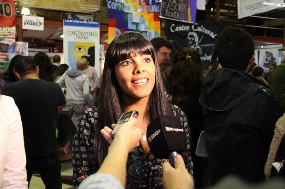 """Eva Mieri: """"Mayra Mendoza es la única que hizo una inversión histórica en seguridad y obras"""""""