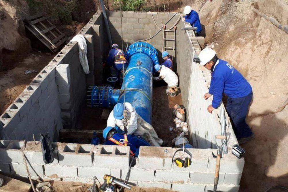 Córdoba: por una obra, está resentido el servicio de agua en 15 barrios de sudeste de la ciudad