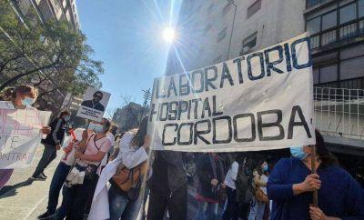 Nueva protesta de la Multisectorial de Salud en Córdoba