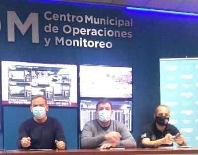 """Guillermo Montenegro y la seguridad… """"Yo hablo con los vecinos, no busco títulos"""""""