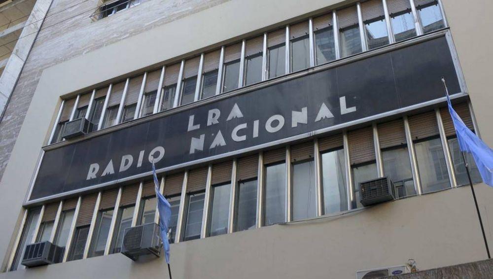 Trabajadores de Radio Nacional hicieron un paro en reclamo de mejoras salariales y laborales