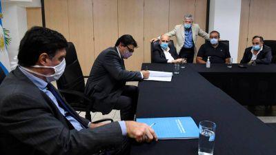 """Moroni aseguró que en la reunión de ayer """"hubo un total apoyo de la CGT al Gobierno"""""""