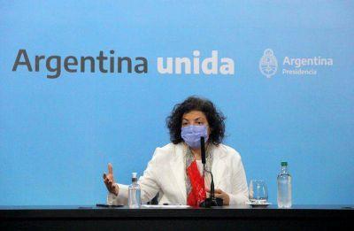 Covid-19: Carla Vizzotti dijo que en noviembre se evaluará la posibilidad de reforzar con tercera dosis