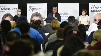"""Julio Zamora: """"El Frente de Todos tiene el compromiso de invertir en educación, en salud y generar empleo para cada argentino y argentina"""""""