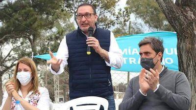El senador Luis Vivona visitó Luján y se reunió con el intendente Leo Boto