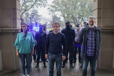 El Intendente presentó la nueva Patrulla Urbana para reforzar la seguridad en la ciudad