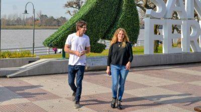 """Eva Andreotti: """"Vamos a seguir renovando y cuidando San Fernando"""""""