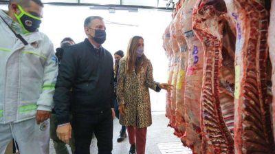 Tolosa Paz, Gray y Silvia Casas recorrieron PYMES de Esteban Echeverría