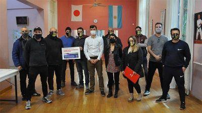 El Ateneo Sagrada Familia de Haedo recibió el Fondo de Fortalecimiento Institucional
