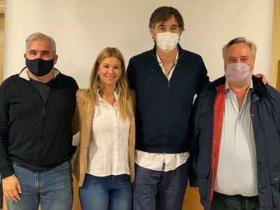 Hurlingham   Esteban Bullrich visitó el distrito para darle su apoyo a Andrea Giorgini