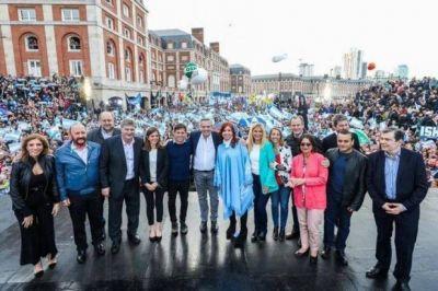 Frente de Todos: el cierre de la campaña provincial será en Mar del Plata
