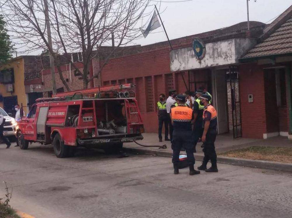 Pesar del obispo de Concepción ante el incendio en la Brigada Femenina de la policía