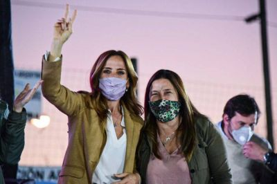 Plenario de mujeres del Frente de Todos en Merlo
