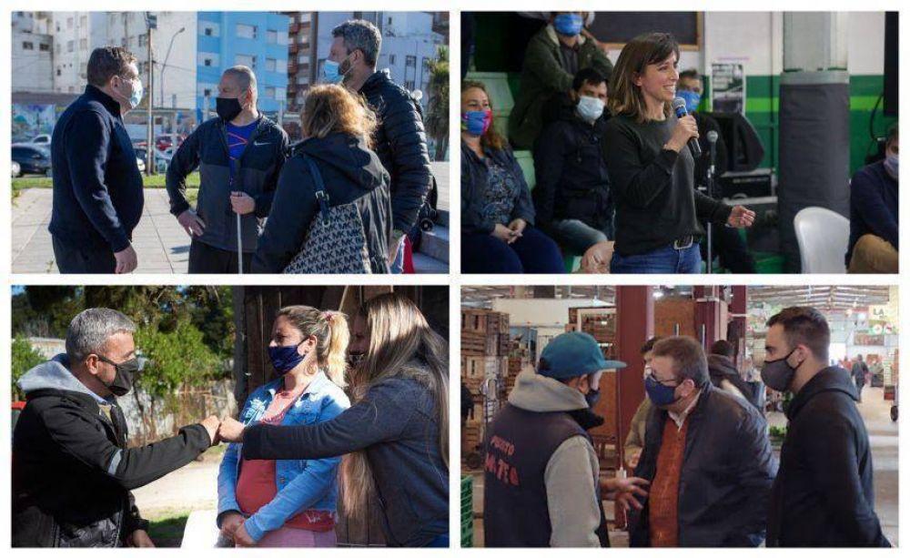 Los candidatos apuestan a la calle en el último fin de semana de campaña