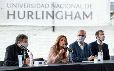 """Victoria Tolosa Paz en Hurlingham e Ituzaingó: """"Tierra, techo y trabajo están presentes en la agenda del Frente de Todos"""""""